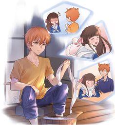 Fruits Basket Cosplay, Fruits Basket Manga, Anime Demon, Manga Anime, Anime Art, Anime Love, Anime Guys, Kyo And Tohru, Fotos Do Instagram