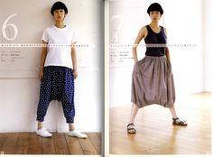 Yoshiko Tsukiori Everyone'S Pants Japanese Dress Pattern Book | eBay