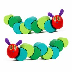 Simingyou Montessori Wooden Toys The Very Hungry Caterpillars Children Anime Toy Drop Shipping