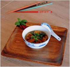 We love our kitchen: Jednoduchá ázijská polievka Ahoj! AK máte radi chu...