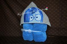 Hooded towel-Sadness