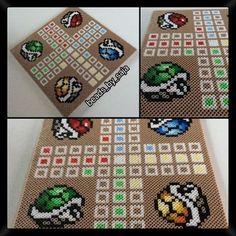 Mario ludo nabbi beads by  beads_by_saja: