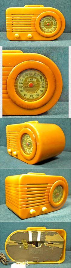 "FADA 1000 ""Bullet"" radio (1946)...love bakelite radios."