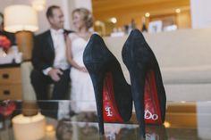 The brides other wedding shoes Christian Louboutin Hyatt Regency Huntington Beach