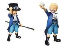 1 pcs Childhood version Pop one piece SAAB sabo action figures 12.5 height dolls model anime birthday gift collection  $16.99