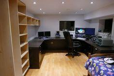 VA7ST radio room (ham shack)