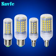 Encontrar Más Bombillas y Tubos LED Información acerca de Navidad bombillas LED del maíz del bulbo E27 SMD 5730 lamparas LED de luz G9 24 36 48 56 69 72 96LED Lampada E14 llevó la lámpara E27 E14 220 V, alta calidad e14 zócalo, China e14 Proveedores, barato Lámpara de plomo de Savfe Lighting Ltd en Aliexpress.com