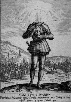 Jacques Callot, Saint Livier, etching, 1592 - 1635 National Gallery of Art, Washington DC Medieval Tattoo, Medieval Art, Arte Horror, Horror Art, Art And Illustration, Art Sketches, Art Drawings, Jacques Callot, La Danse Macabre