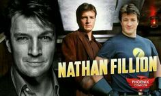 Nathan Fillion, Castle and Firefly