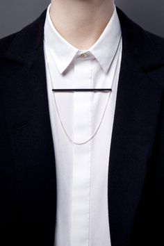 Charcoal Necklace 'Sphere' Horizon. The Charcoal Collection. www.theboyscouts.com