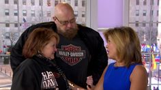 Hoda Kotb responds to the biker community: You do incredible work