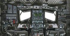 AT-ST cockpit