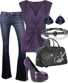 """""""Rock Concert"""" by mhuffman1282 ❤ liked on Polyvore"""