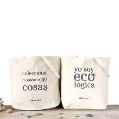 a38db5f19e6 Pack ahorro 2 Bolsas Esturirafi lona algodón natural