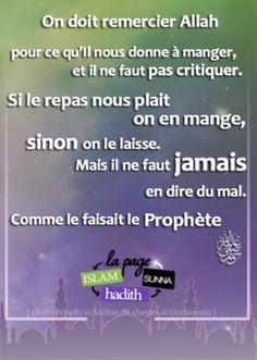 Le Saviez Vous ? - Islam Hadith Sunna