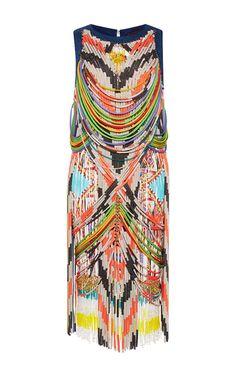 Manish Arora Swarovski Short Beaded Dress