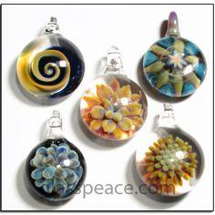 Wholesale lot of glass pendants glass peace blown glass jewelry glass pendants boro lampwork focal beads glass peace wholesale glass jewelry 5790 mozeypictures Image collections