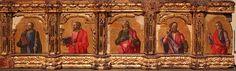 Bartolomeo Vivarini - Polittico Conversano, dettaglio predella - 1475 - Gallerie dell'Accademia, Venezia