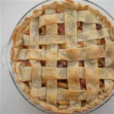 Grandma Ople's Apple Pie: The Best Apple Pie Ever Recipe Homemade Apple Pies, Apple Pie Recipes, Apple Desserts, Great Desserts, Dessert Recipes, Allrecipes Apple Pie, Grandma Oples Apple Pie Recipe, Best Apple Pie, Chocolates