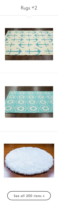 """Rugs #2"" by missblue1 ❤ liked on Polyvore featuring home, rugs, white, outdoor area rugs, olefin area rugs, white area rug, outside area rugs, polypropylene rugs, lt turquoise and wool area rugs"