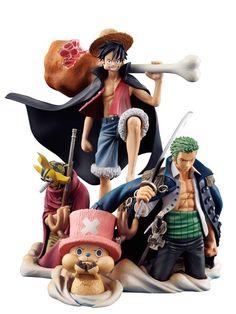 One Piece: Desktop Real McCoy 01 (Diorama) - (Eiichiro Oda) [TRIBULLES, bookstore Canal BD Network]