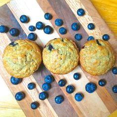 Blueberry Banana Flax Muffins with Coconut Oil + Nespresso Giveaway!