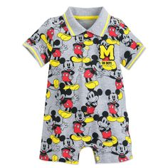 Mickey Mouse Romper for Baby | shopDisney