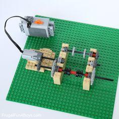 Build a LEGO Egg Decorating Machine