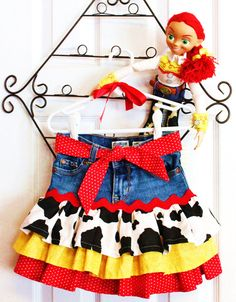 RESERVED LISTING for SmFlores3Size 4t Ready to por TinkyToodles