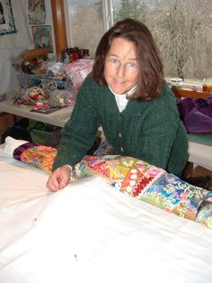 How to complete a crazy quilt
