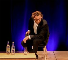 #TomHiddleston at #JW3, October 30, 2018. # ...