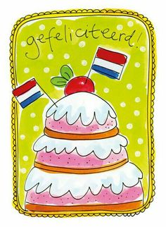 simple first birthday party May Birthday, Happy Birthday Wishes, Birthday Cards, Holland, Doodle, Birthday Congratulations, Blond Amsterdam, Happy B Day, Wishing Well