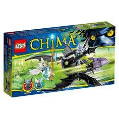 Lego Legends of ChimaBraptor's Wing Striker 70128