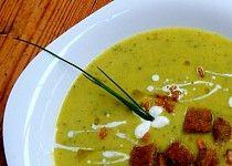 Cuketová polévka trochu jinak Cheeseburger Chowder, Thai Red Curry, Recipies, Soup, Ethnic Recipes, Recipes, Soups