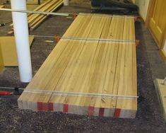 Woodworking Bench Plans, Woodworking Projects, Building A Workbench, Box Hinges, Butcher Block Cutting Board, Diy Wood, Wooden Boxes, Cabinets, Workshop