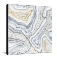 Agate Abstract II Premium Giclee Print by Megan Meagher at Art.com