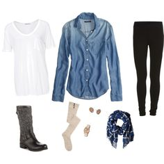 """""""PNW Girly"""" by sabknowsbest on Polyvore"""