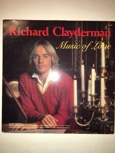 Richard Clayderman - Music of Love - Vinyl LP Album Record - P 17661 - CBS