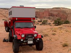 AEV Brute Jeep and Four Wheel Camper