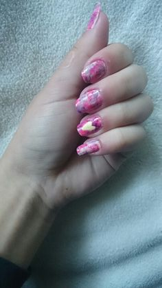 #simple #heart ♥ #summer ☀ #nails #DIY
