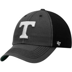 55af3051bd995 Men s  47 Gray Black Tennessee Volunteers Humboldt Franchise Fitted Hat