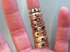 Gypsy rings http://www.pinterest.com/lmbrody/things-people-places-i-love/
