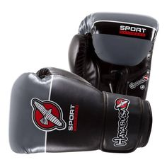 Hayabusa Sport 12oz Boxing Gloves In Black/Grey