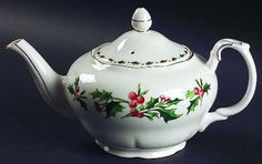 Christmas Teapot - Google Image Result for http://images.replacements.com/images/images5/china/W/waldman_house_a_cup_of_christmas_tea_tea_pot_lid_P0000156617S0037T2.jpg