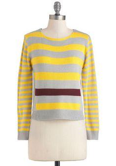 Peeks of Sun Sweater, #ModCloth