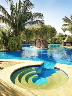 Resort pool in Costa Rica....have been to Costa Rica, but would love to go back!!!