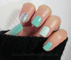 OPI Crown me Already Essie Turquoise & Caicos Jamberry Chevron Nail Shield