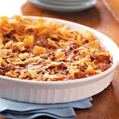 Enchilada Beef Recipe from Taste of Home -- shared by Loraine E Meyer of Bend, Oregon #quick