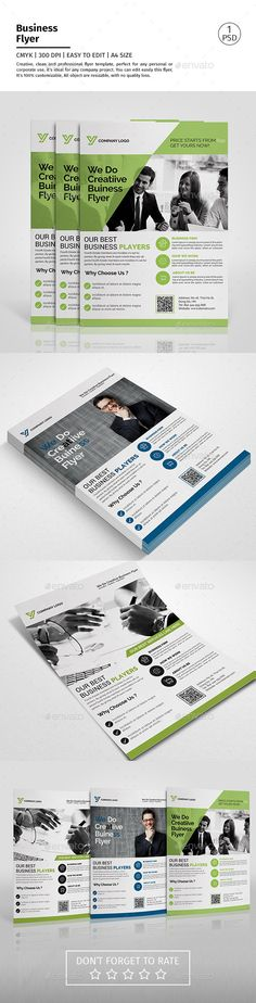 Corporate Flyer Template #design Download: http://graphicriver.net/item/corporate-flyer/12604612?ref=ksioks