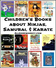 Children's Books about Ninjas, Samurai, and Karate | Alldonemonkey.com
